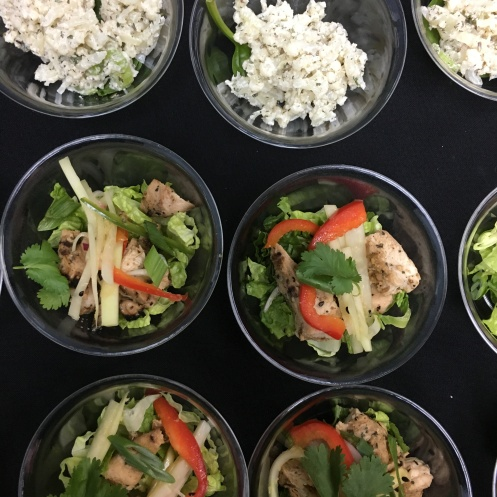 Catered Wellness Event