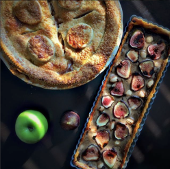 Fig Tart using our Fig & Apricot Spread
