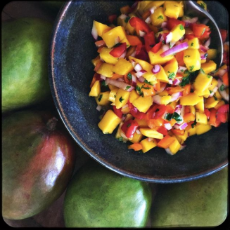 Mango Tropical Salsa