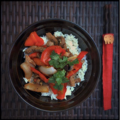 Stir Fry featuring our Ninja Asian Vinaigrette