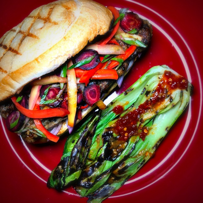 Serve with Flamin Bok Choy