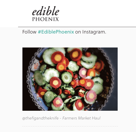 Edible Phoenix Salad Feature